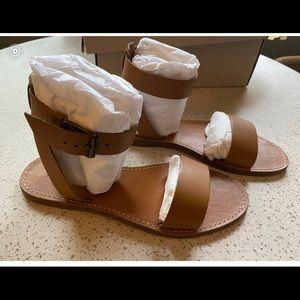 NIB Madewell leather sandals. Size 8.5